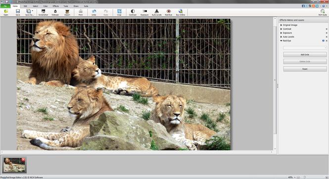 PhotoPad Photo Editor Free Screenshot 2