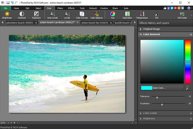 Download PhotoPad Photo Editor Free 5 24