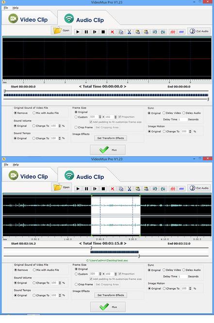 VideoMux Pro Screenshot