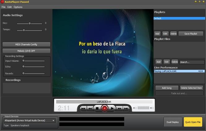 Kanto Karaoke Screenshot