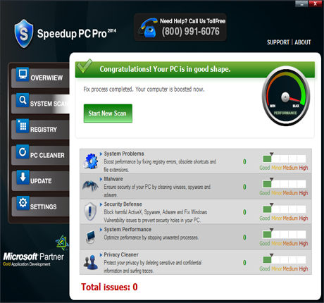 SpeedUpPC Pro Screenshot