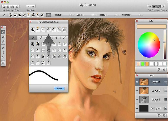 MyBrushes for Mac Screenshot