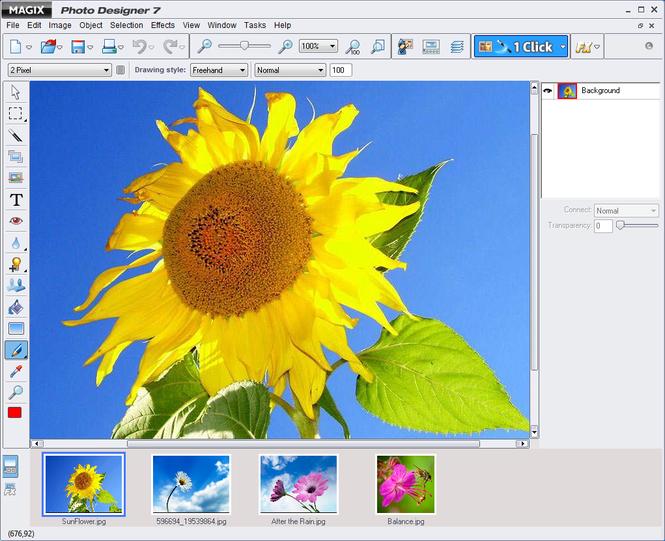 Magix Photo Designer Screenshot 1