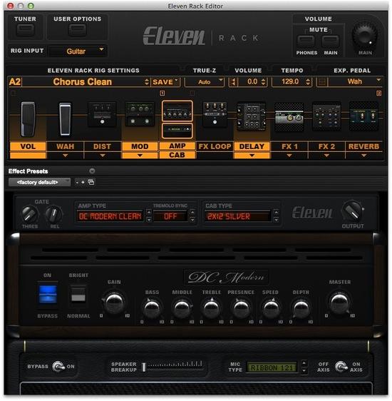 Eleven Rack Screenshot 2