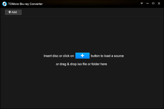 TDMore Blu-ray Converter Screenshot