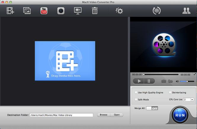 MacX Video Converter World Cup Edition Screenshot