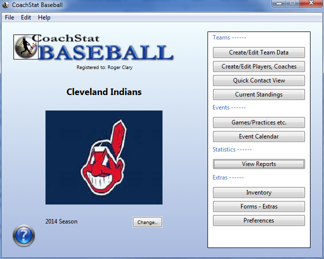 CoachStat Baseball Screenshot