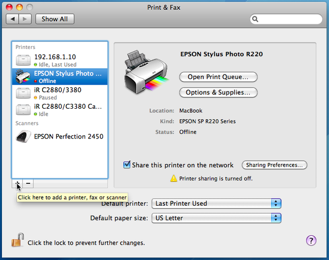 HP Printer Drivers for Mac Screenshot 1