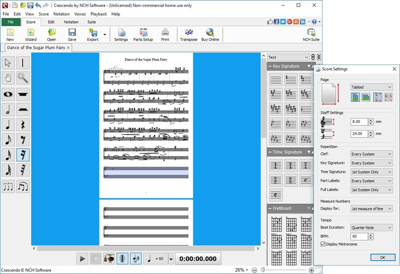 Crescendo Plus Screenshot 1