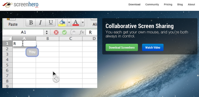 Screenhero Screenshot