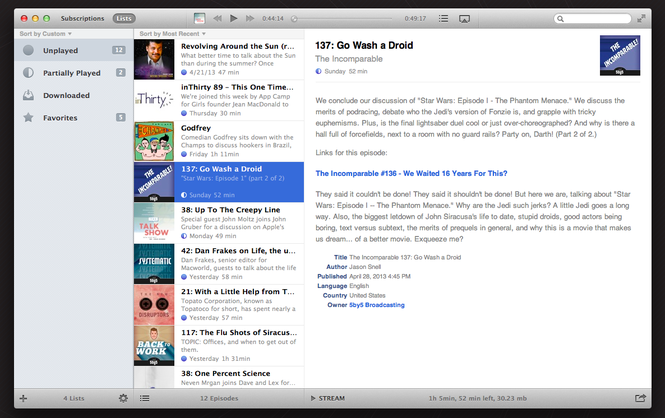 iNSTACAST Screenshot 1