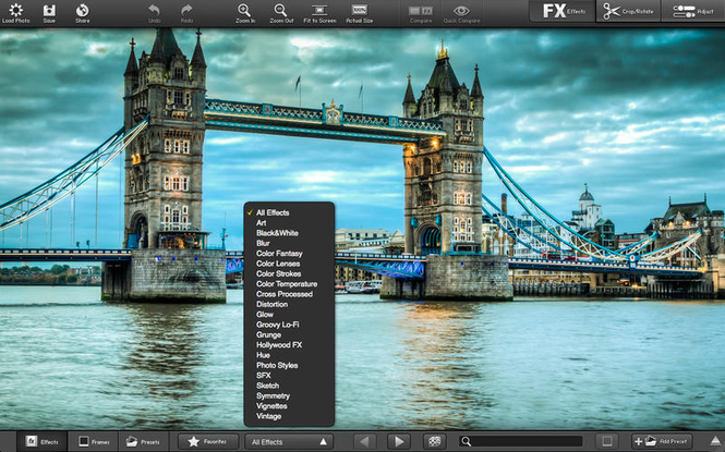 FX photo Studio Pro Screenshot 1