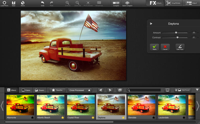 FX photo Studio Pro Screenshot 2