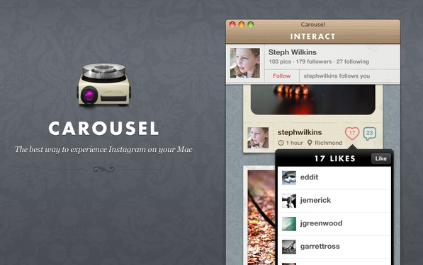 Carousel Screenshot 2