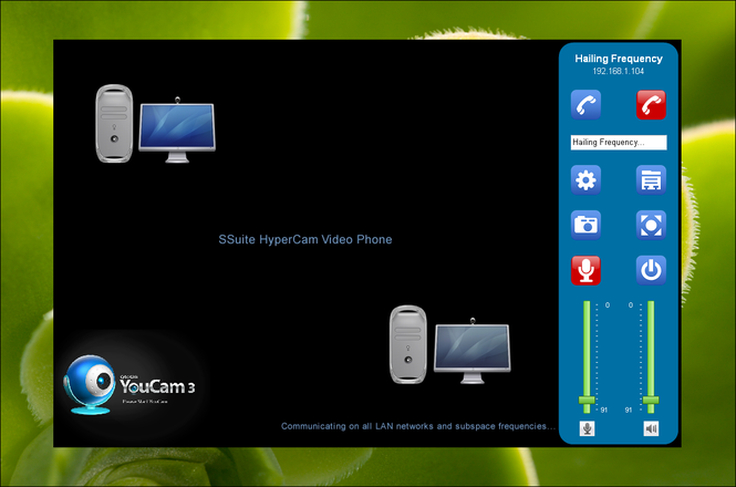 SSuite HyperCam Video Phone Screenshot 1