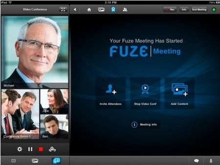 Fuze Meeting Screenshot 2