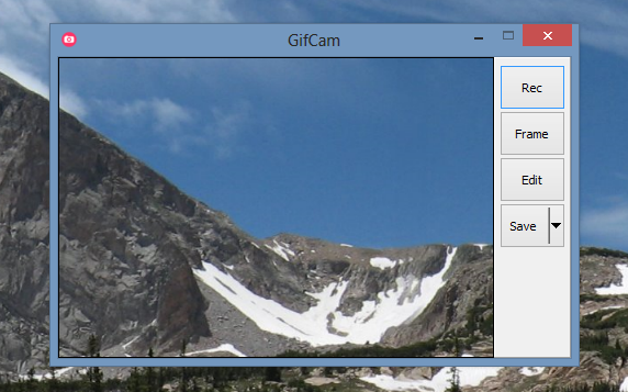 GifCam Screenshot