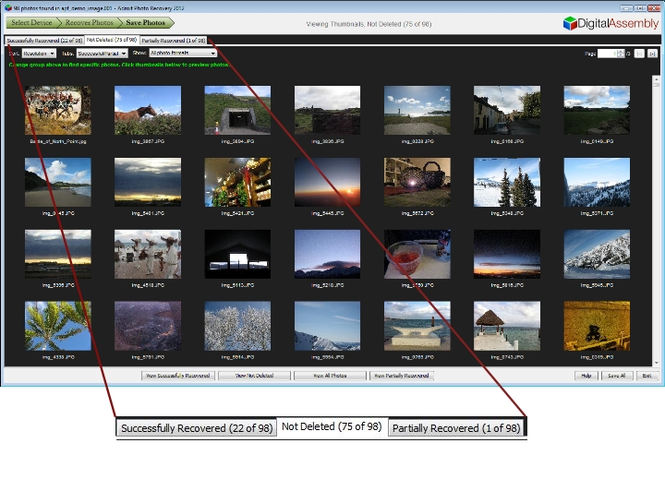 Adroit Photo Recovery Screenshot 3