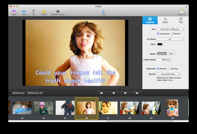 PicGIF for Mac Screenshot 1