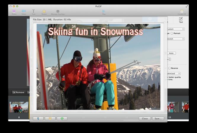 PicGIF for Mac Screenshot 2