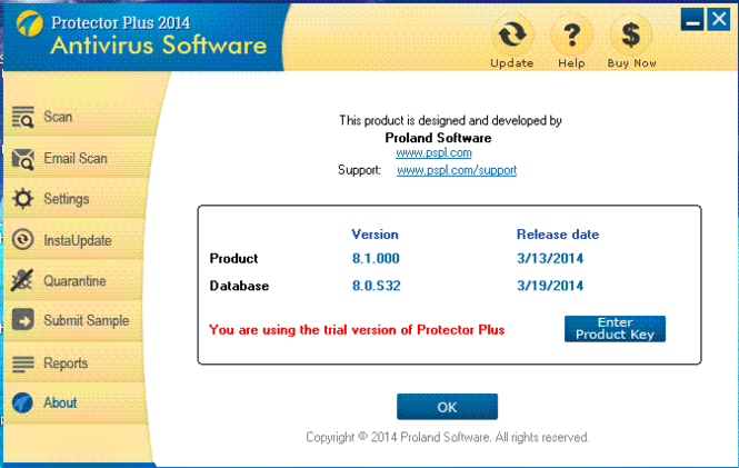 Protector Plus 2014 (32-bit) Screenshot 1