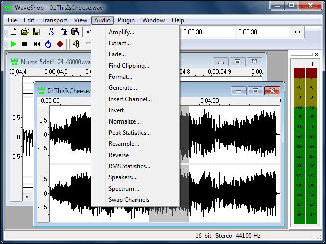 WaveShop Screenshot