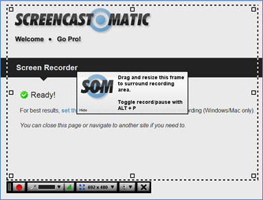 Screencast-O-Matic Screenshot 1