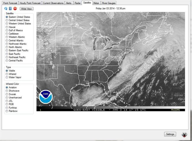 Weather Beetle Screenshot 2