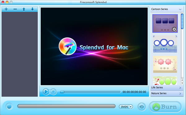 Firecoresoft Splendvd for Mac Screenshot