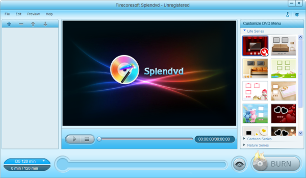 Firecoresoft Splendvd Screenshot