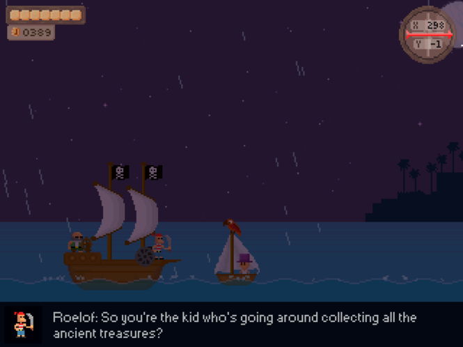 Treasure Adventure Game Screenshot