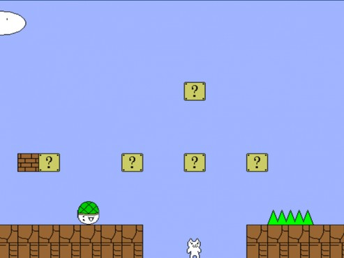 Cat Mario Screenshot