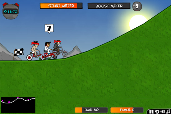 Cyclomaniacs Screenshot 1