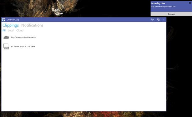 Omnipaste Screenshot