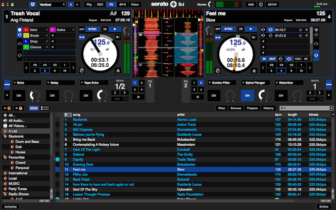 Serato DJ Screenshot 1