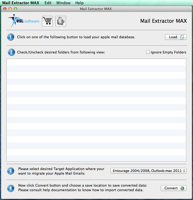 Mail Extractor Max Screenshot