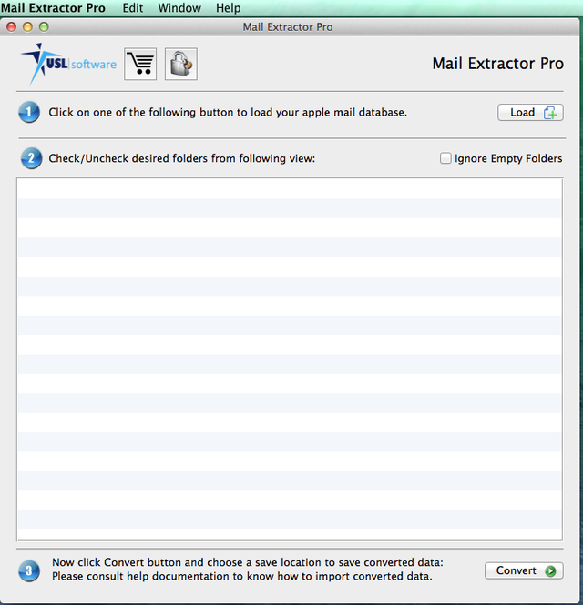 Mail Extractor Pro Screenshot