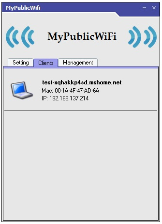 MyPublicWiFi Screenshot 3