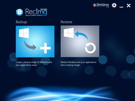 RecImg Manager Screenshot 4