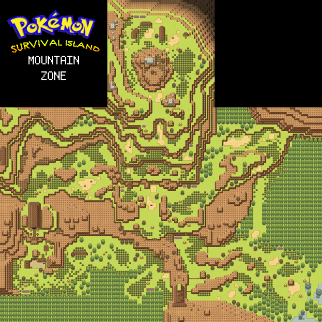 Pokémon: Survival Island Screenshot 2