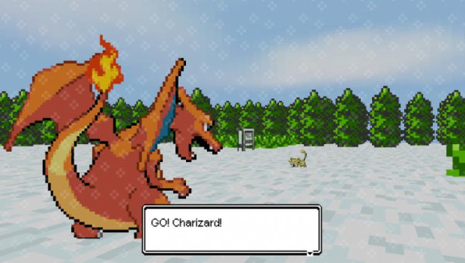 Pokemon 3D Screenshot 1