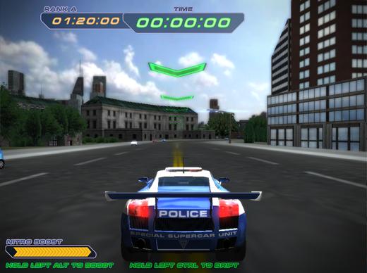 Police Supercars Racing Screenshot 3