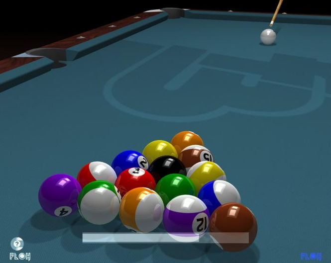 FooBillard Screenshot