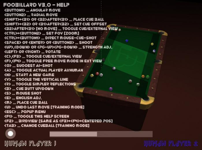 FooBillard Screenshot 3