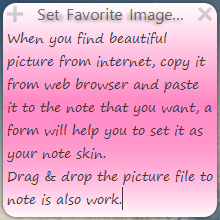 Cute Sticky Notes for win7 XP Vista Screenshot 2