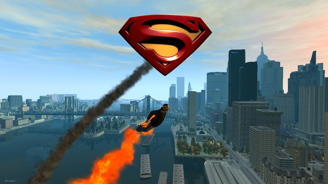 SuperMan Mod Screenshot
