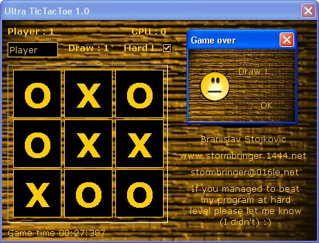Ultra TicTacToe Screenshot 2