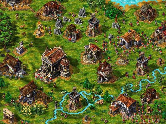 The Settlers IV Screenshot