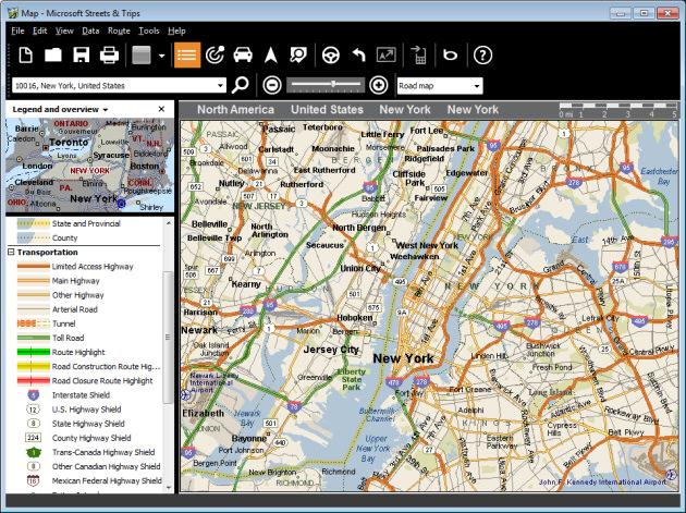 Microsoft Streets & Trips Screenshot 2