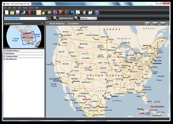 Microsoft Streets & Trips Screenshot 3